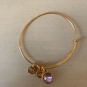 Alex and ani birthstone bracelet (June)